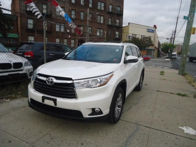 Used Toyota Highlander AWD 4dr V6 XLE (Natl) 2015 | Top Line Auto Inc.. Brooklyn, New York