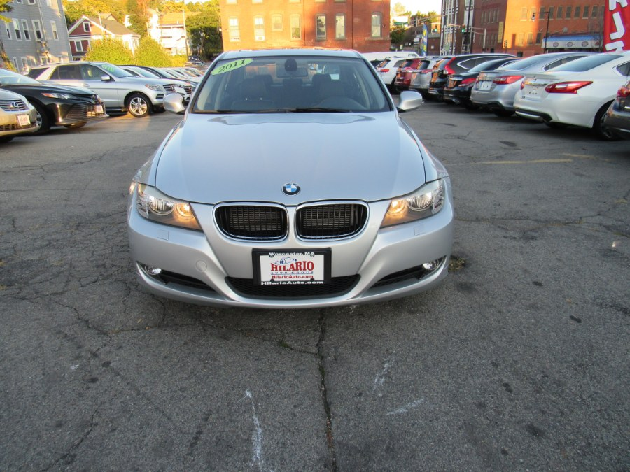 Used BMW 3 Series 4dr Sdn 328i xDrive AWD SULEV 2011 | Hilario's Auto Sales Inc.. Worcester, Massachusetts