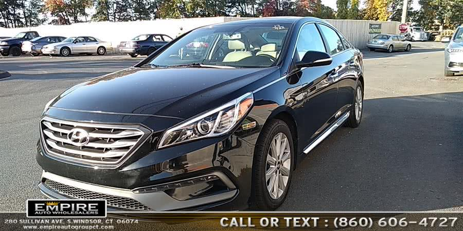 Used Hyundai Sonata Sport 2.4L PZEV 2017 | Empire Auto Wholesalers. S.Windsor, Connecticut