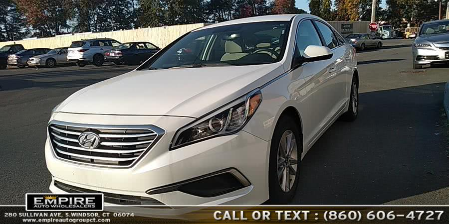 Used Hyundai Sonata SE 2016 | Empire Auto Wholesalers. S.Windsor, Connecticut