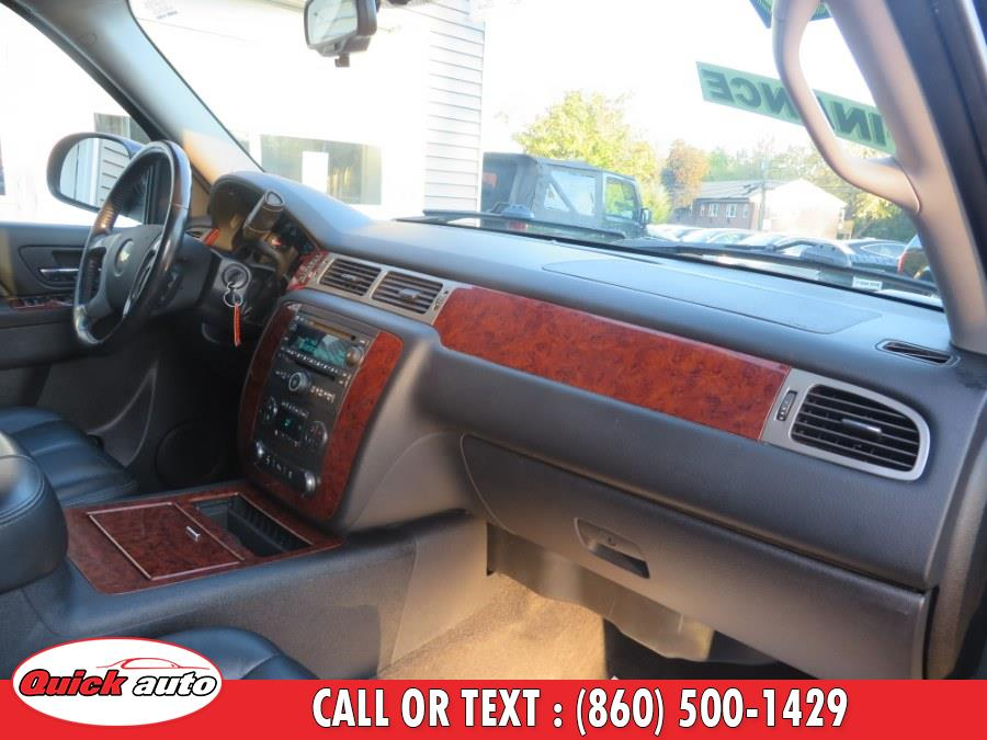 2012 Chevrolet Suburban 4WD 4dr 1500 LT, available for sale in Bristol, Connecticut | Quick Auto LLC. Bristol, Connecticut