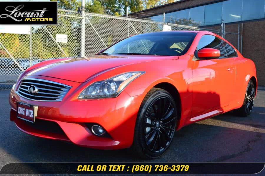 Used 2012 Infiniti G37 Coupe in Hartford, Connecticut | Locust Motors LLC. Hartford, Connecticut
