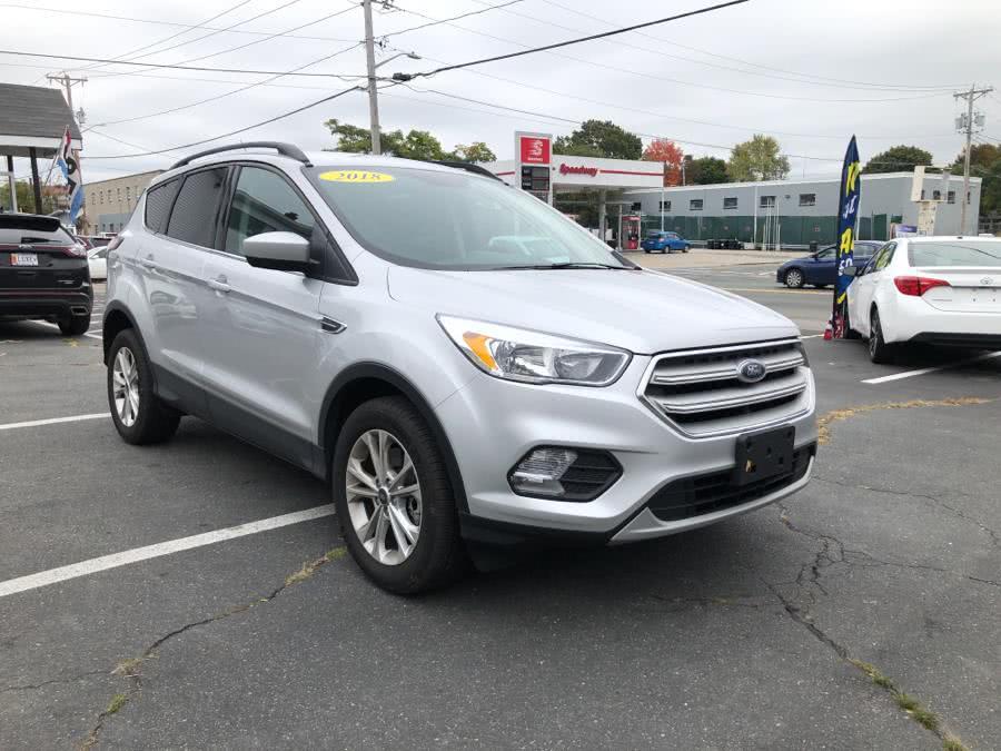 Used Ford Escape SE 4WD 2018 | Champion City Motors. Brockton, Massachusetts