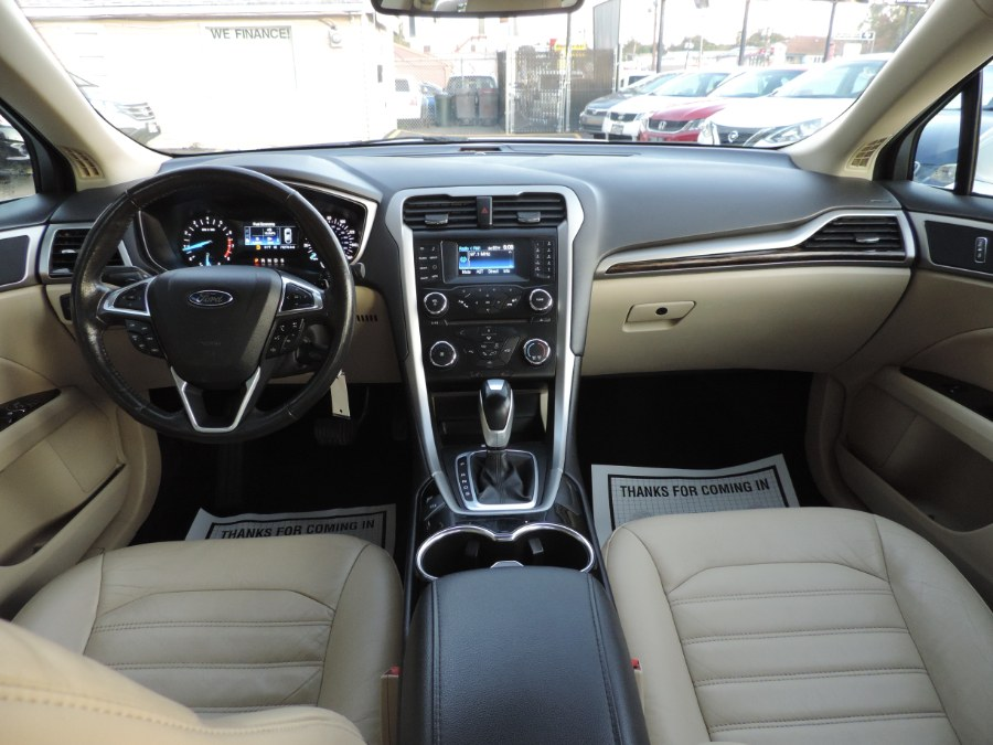 2014 Ford Fusion 4dr Sdn SE FWD, available for sale in Lodi, New Jersey | Auto Gallery. Lodi, New Jersey