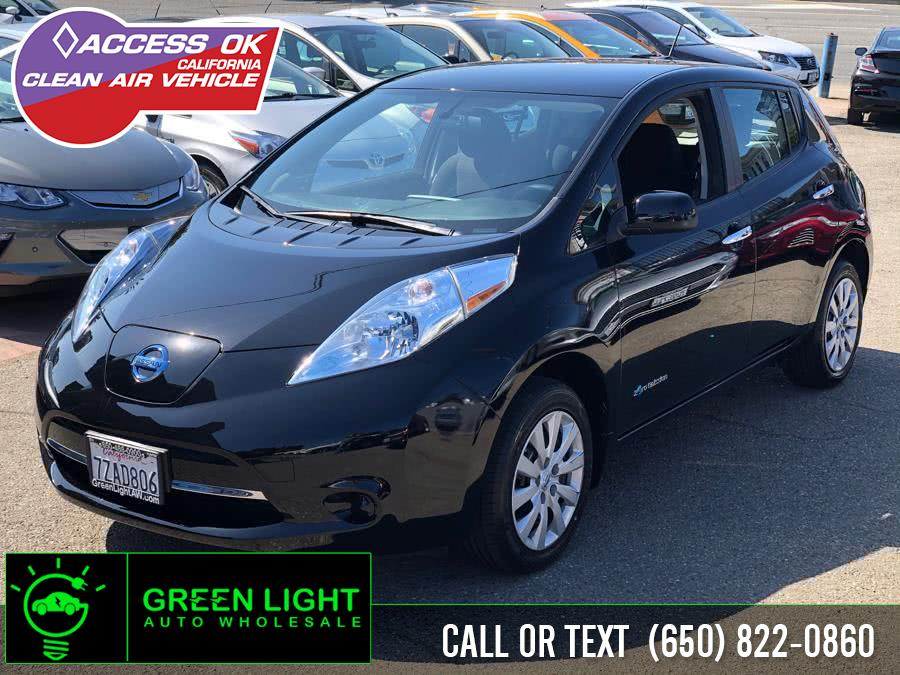 2017 Nissan LEAF S, available for sale in Daly City, California | Green Light Auto Wholesale. Daly City, California