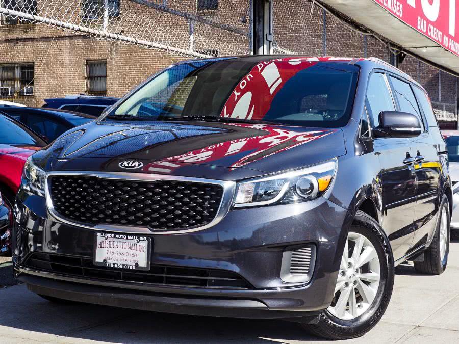 Used 2016 Kia Sedona in Jamaica, New York | Hillside Auto Mall Inc.. Jamaica, New York