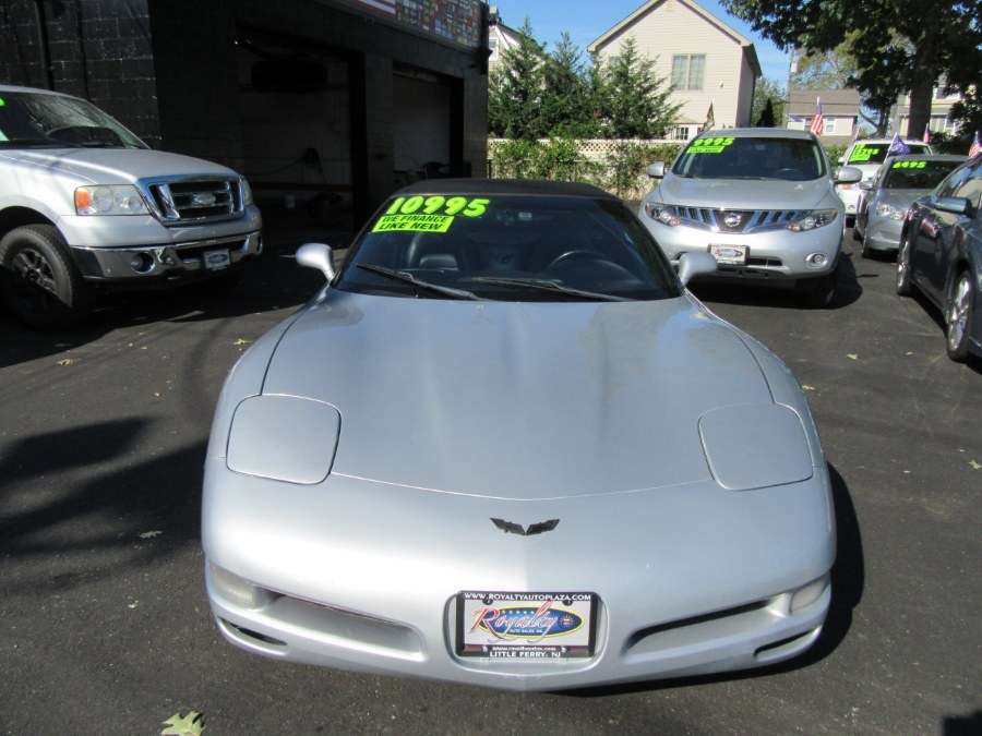 1998 Chevrolet Corvette 6-SPEED 2dr Convertible, available for sale in Little Ferry, New Jersey | Royalty Auto Sales. Little Ferry, New Jersey