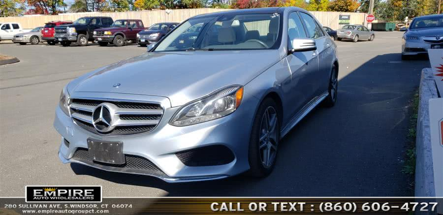 Used 2015 Mercedes-Benz E-Class in S.Windsor, Connecticut | Empire Auto Wholesalers. S.Windsor, Connecticut