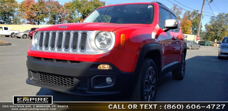 Used 2016 Jeep Renegade in S.Windsor, Connecticut | Empire Auto Wholesalers. S.Windsor, Connecticut