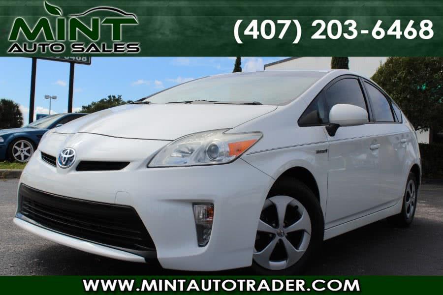 Used 2013 Toyota Prius in Orlando, Florida | Mint Auto Sales. Orlando, Florida