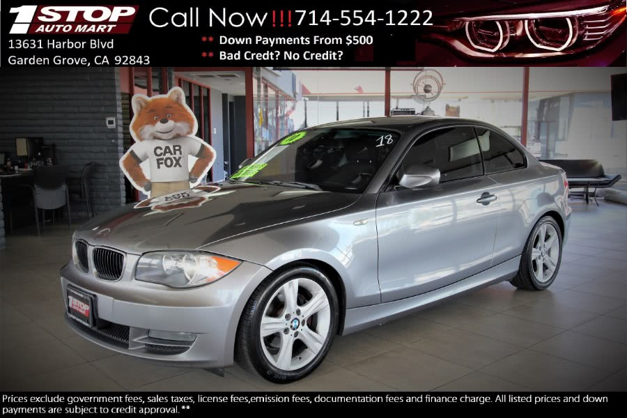Used 2010 BMW 1 Series in Garden Grove, California | 1 Stop Auto Mart Inc.. Garden Grove, California