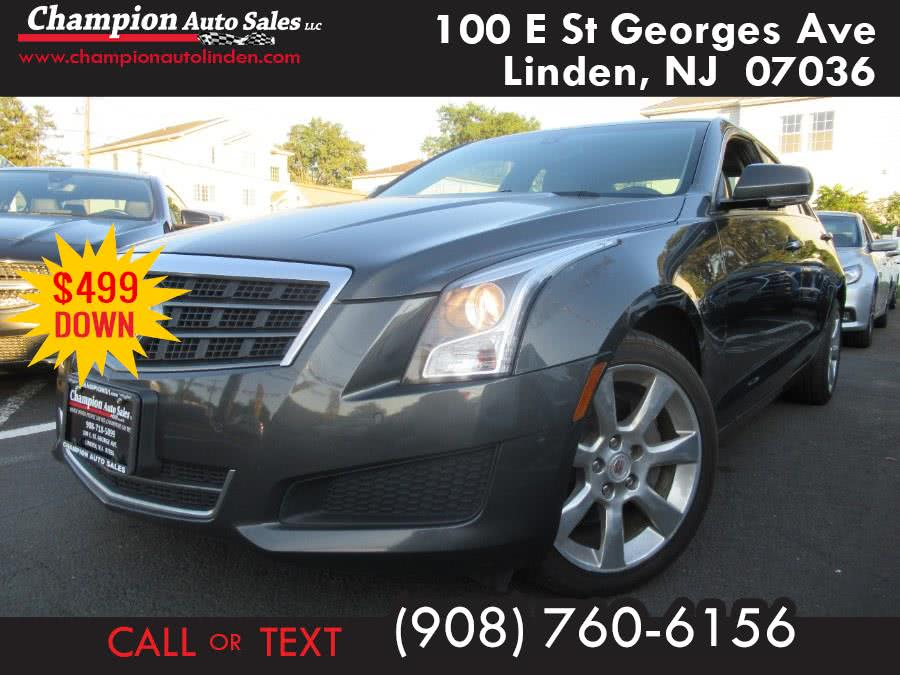 Used 2014 Cadillac ATS in Linden, New Jersey | Champion Used Auto Sales. Linden, New Jersey
