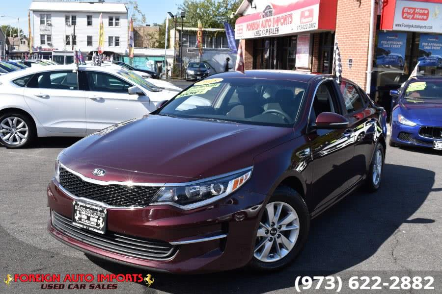 2018 Kia Optima LX Auto, available for sale in Irvington, New Jersey | Foreign Auto Imports. Irvington, New Jersey