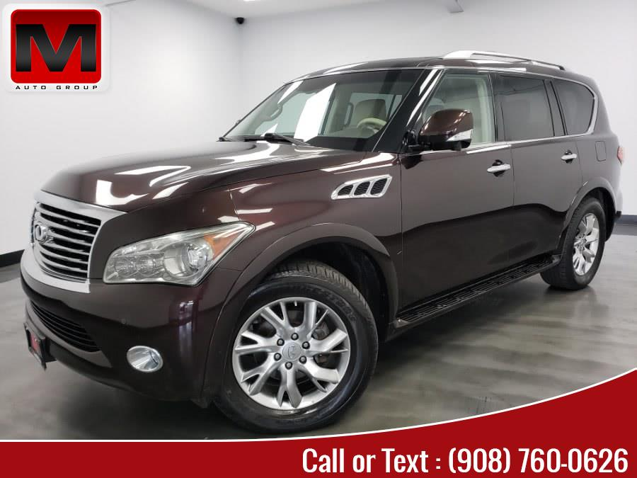 Used 2012 INFINITI QX56 in Elizabeth, New Jersey | M Auto Group. Elizabeth, New Jersey
