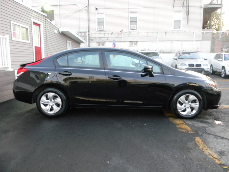 2014 Honda Civic Sedan 4dr CVT LX, available for sale in Paterson, New Jersey | DZ Automall. Paterson, New Jersey