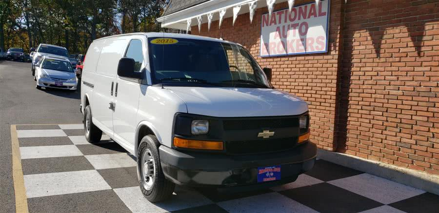 Used 2015 Chevrolet Express Cargo Van in Waterbury, Connecticut | National Auto Brokers, Inc.. Waterbury, Connecticut