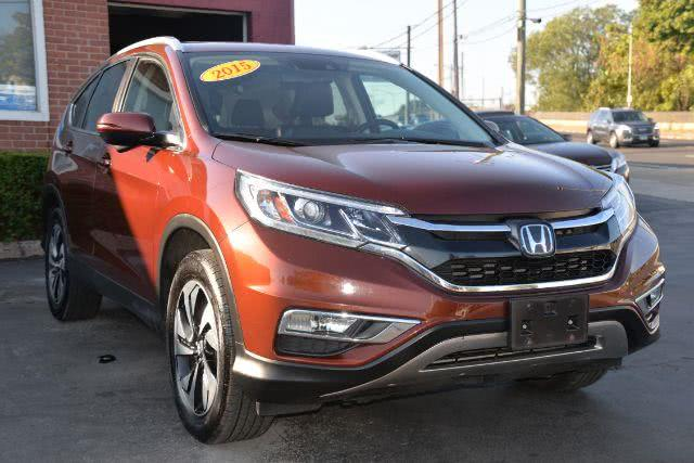 Used Honda Cr-v Touring AWD 2015 | Boulevard Motors LLC. New Haven, Connecticut