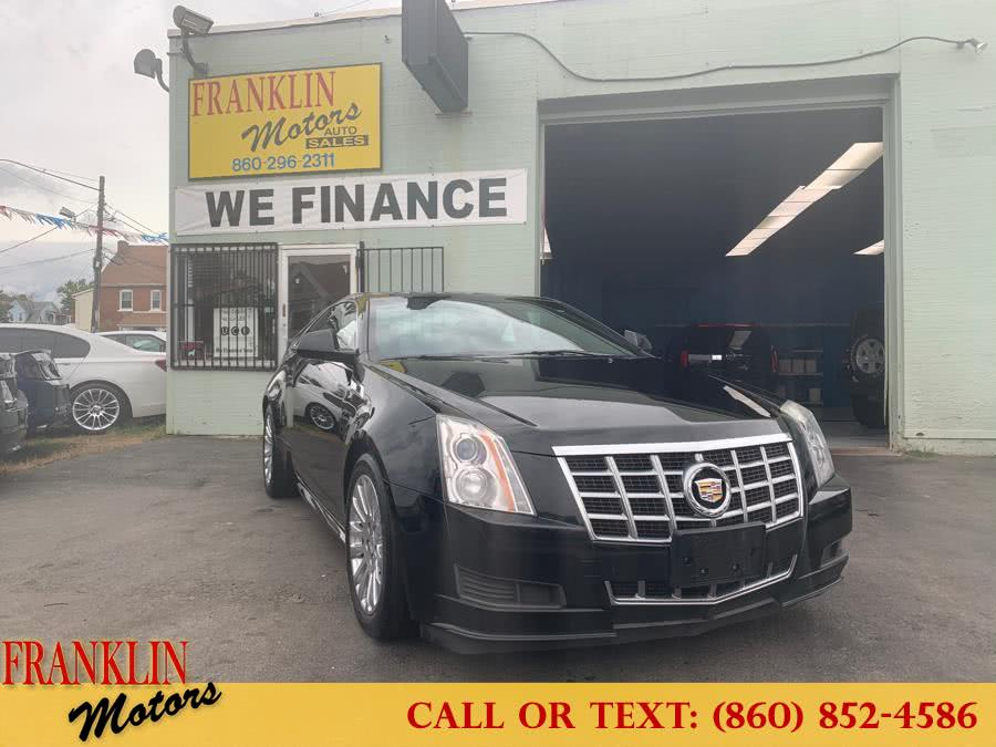 Used 2013 Cadillac CTS Coupe in Hartford, Connecticut | Franklin Motors Auto Sales LLC. Hartford, Connecticut