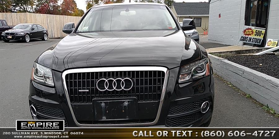 2011 Audi Q5 quattro 4dr 3.2L Premium Plus, available for sale in S.Windsor, Connecticut | Empire Auto Wholesalers. S.Windsor, Connecticut