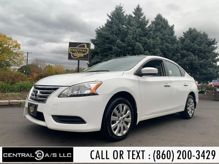 Used Nissan Sentra 4dr Sdn I4 CVT S 2015 | Central A/S LLC. East Windsor, Connecticut