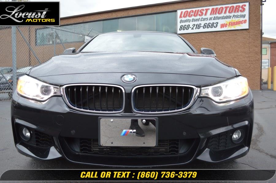 2015 BMW 4 Series 2dr Conv 428i xDrive AWD SULEV, available for sale in Hartford, Connecticut | Locust Motors LLC. Hartford, Connecticut