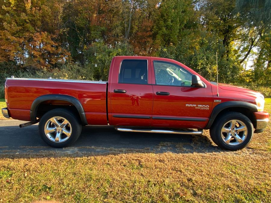 2006 Dodge Ram 1500 4dr Quad Cab 140.5 4WD SLT, available for sale in East Windsor, Connecticut | A1 Auto Sale LLC. East Windsor, Connecticut