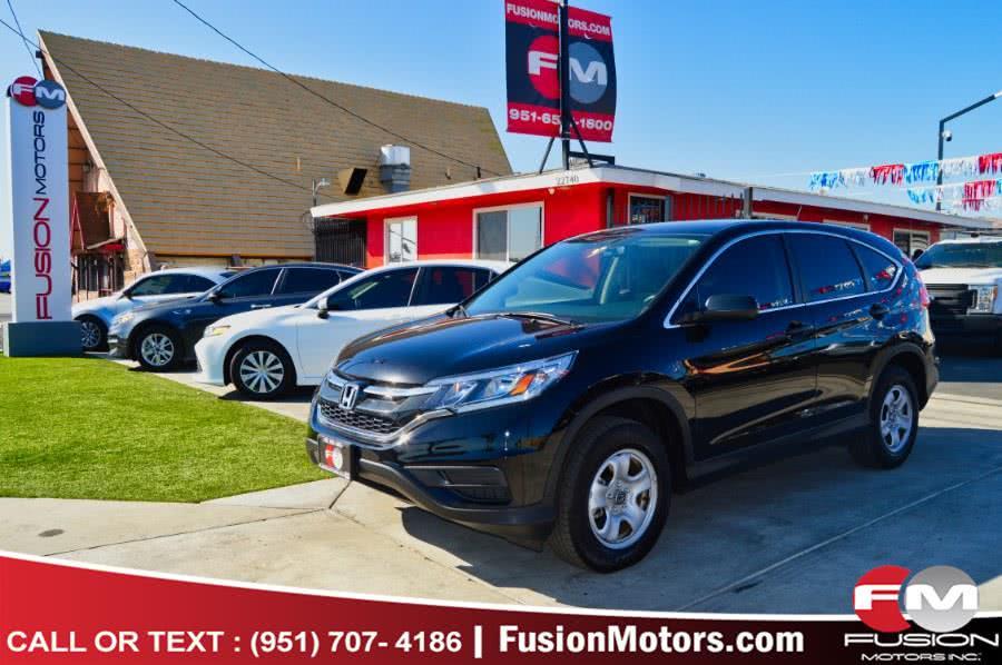 Used 2016 Honda CR-V in Moreno Valley, California | Fusion Motors Inc. Moreno Valley, California