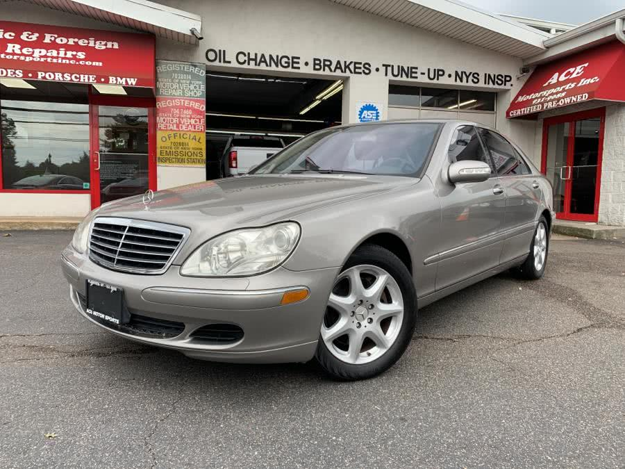 Used Mercedes-Benz S-Class 4dr Sdn 5.0L 4MATIC 2004 | Ace Motor Sports Inc. Plainview , New York