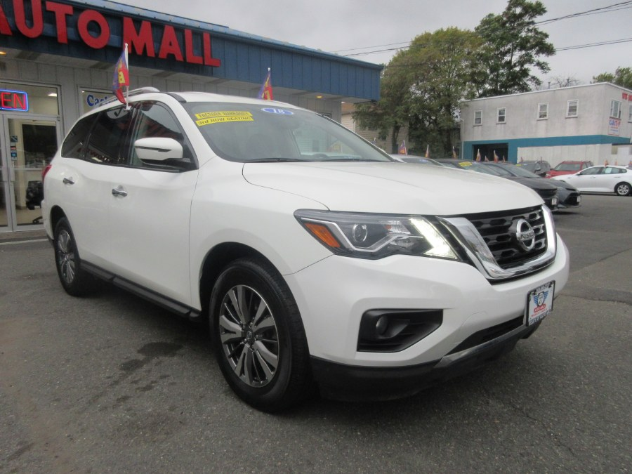 2018 Nissan Pathfinder 4x4 SV, available for sale in Linden, New Jersey | Route 27 Auto Mall. Linden, New Jersey