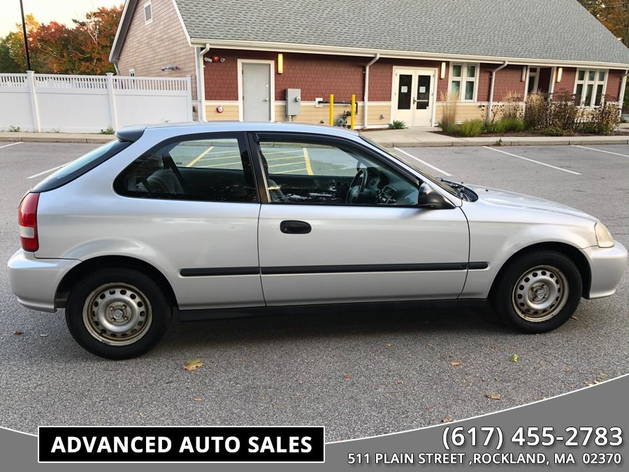 2000 Honda Civic 3dr HB CX Manual, available for sale in Rockland, Massachusetts   Advanced Auto Sales. Rockland, Massachusetts