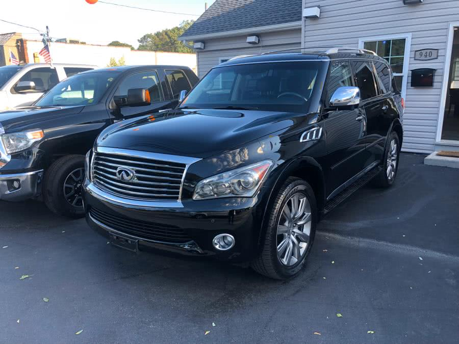 2012 INFINITI QX56 4WD 4dr 7-passenger, available for sale in Selden, New York | Select Cars Inc. Selden, New York