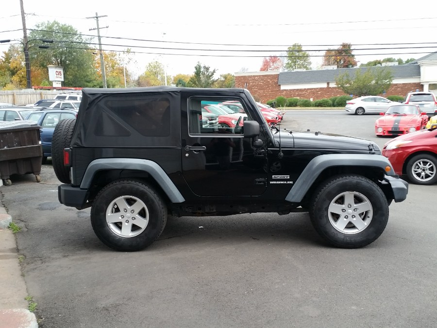 2011 Jeep Wrangler 4WD 2dr Sport, available for sale in Berlin, Connecticut | Action Automotive. Berlin, Connecticut