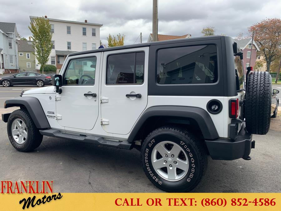 Used Jeep Wrangler Unlimited 4WD 4dr Sport 2011 | Franklin Motors Auto Sales LLC. Hartford, Connecticut