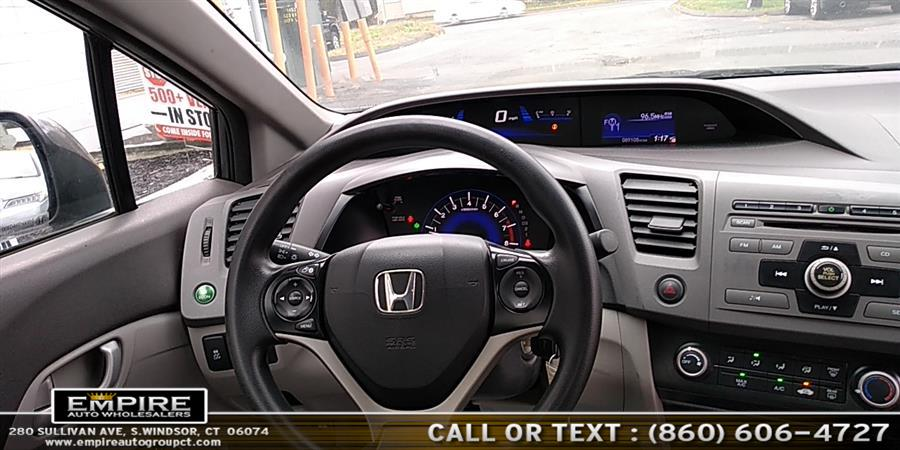 2012 Honda Civic Sdn EX, available for sale in S.Windsor, Connecticut | Empire Auto Wholesalers. S.Windsor, Connecticut
