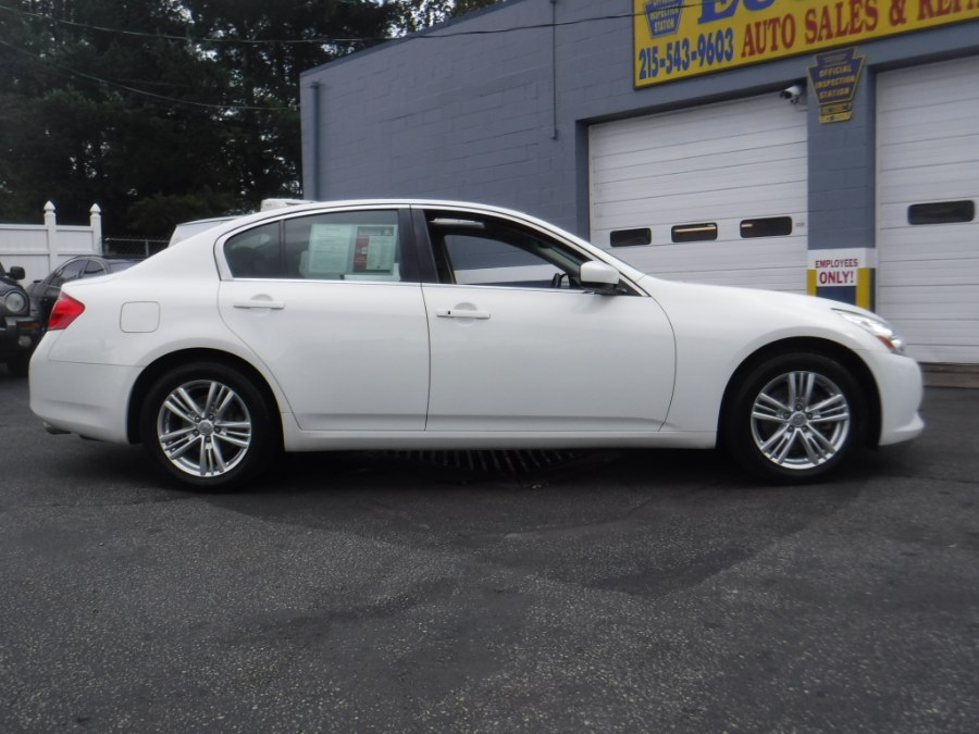 2013 Infiniti G37 Sedan 4dr x AWD, available for sale in Philadelphia, Pennsylvania | Eugen's Auto Sales & Repairs. Philadelphia, Pennsylvania
