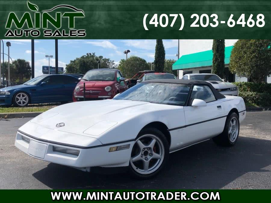 Used 1989 Chevrolet Corvette in Orlando, Florida | Mint Auto Sales. Orlando, Florida