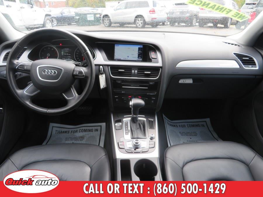 2014 Audi A4 4dr Sdn Auto quattro 2.0T Premium, available for sale in Bristol, Connecticut | Quick Auto LLC. Bristol, Connecticut