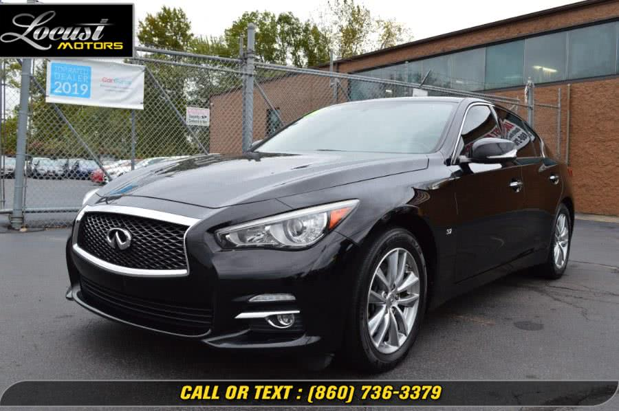 Used 2014 Infiniti Q50 in Hartford, Connecticut | Locust Motors LLC. Hartford, Connecticut