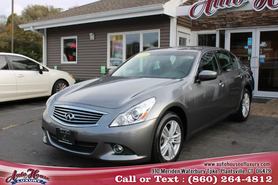 Used 2011 Infiniti G25 Sedan in Plantsville, Connecticut | Auto House of Luxury. Plantsville, Connecticut