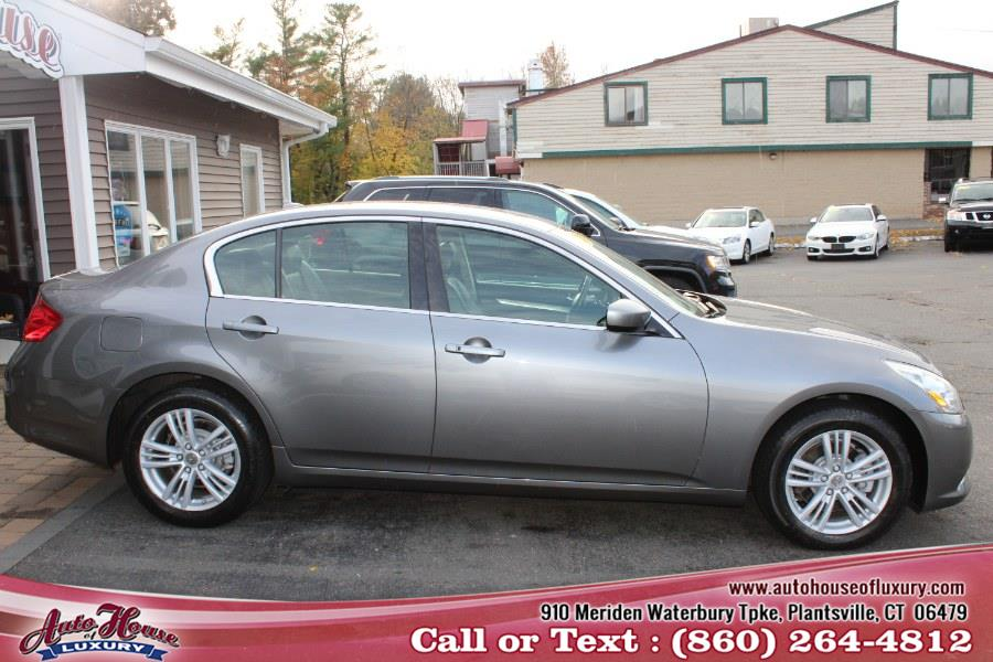Used Infiniti G25 Sedan 4dr x AWD 2011 | Auto House of Luxury. Plantsville, Connecticut