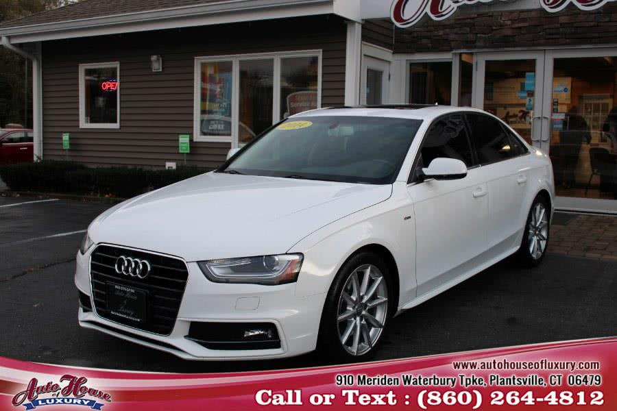 Used 2014 Audi A4 in Plantsville, Connecticut | Auto House of Luxury. Plantsville, Connecticut