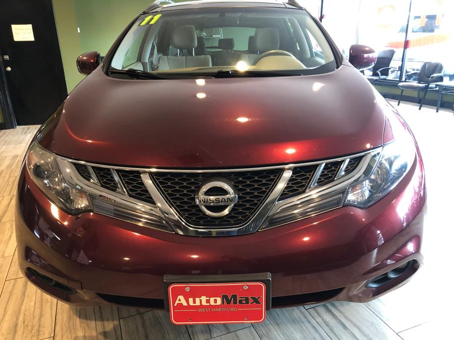 2011 Nissan Murano AWD 4dr SL, available for sale in West Hartford, Connecticut | AutoMax. West Hartford, Connecticut
