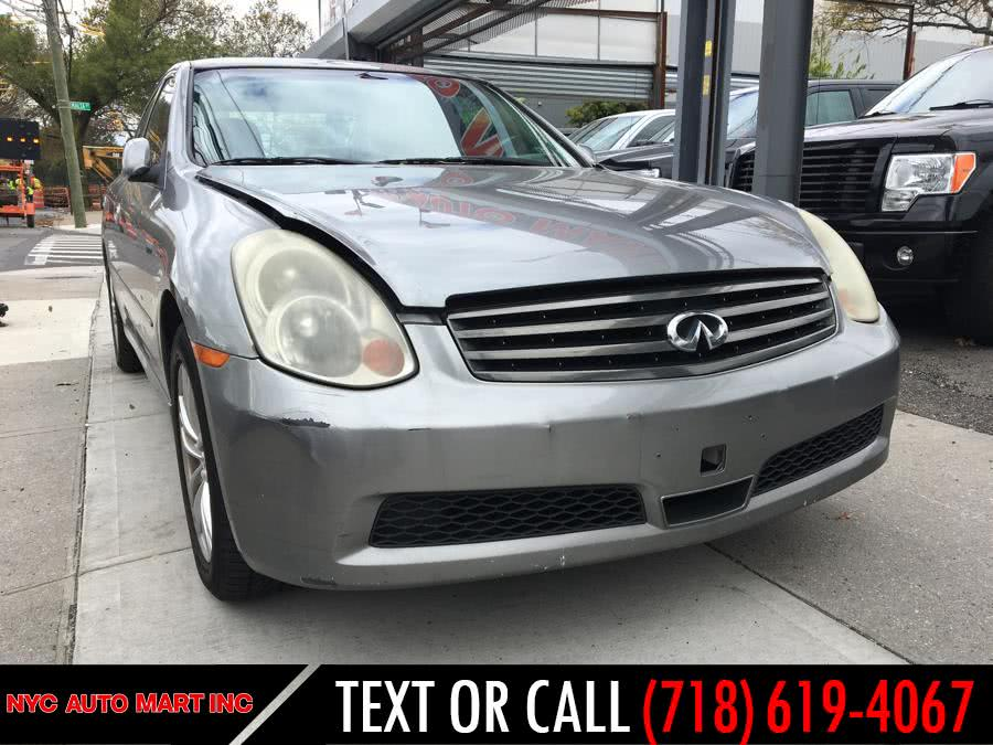 Used 2006 Infiniti G35 Sedan in Brooklyn, New York | NYC Automart Inc. Brooklyn, New York