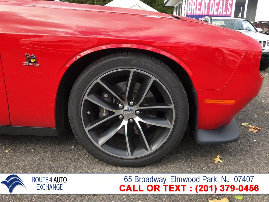 2016 Dodge Challenger 2dr Cpe R/T Scat Pack, available for sale in Elmwood Park, New Jersey | Route 4 Auto Exchange. Elmwood Park, New Jersey