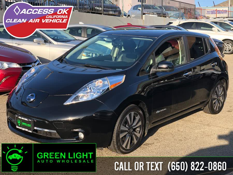 2016 Nissan LEAF SL, available for sale in Daly City, California | Green Light Auto Wholesale. Daly City, California