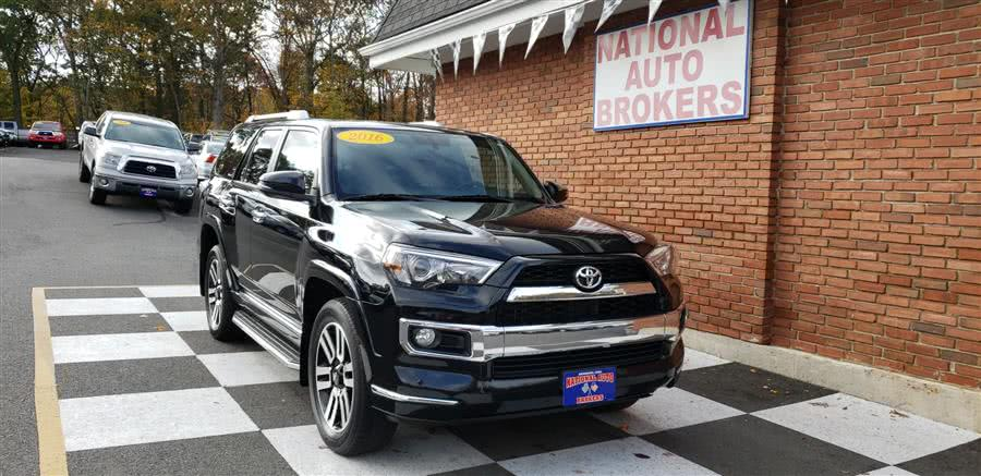 Used Toyota 4Runner 4WD 4dr V6 Limited 2016 | National Auto Brokers, Inc.. Waterbury, Connecticut