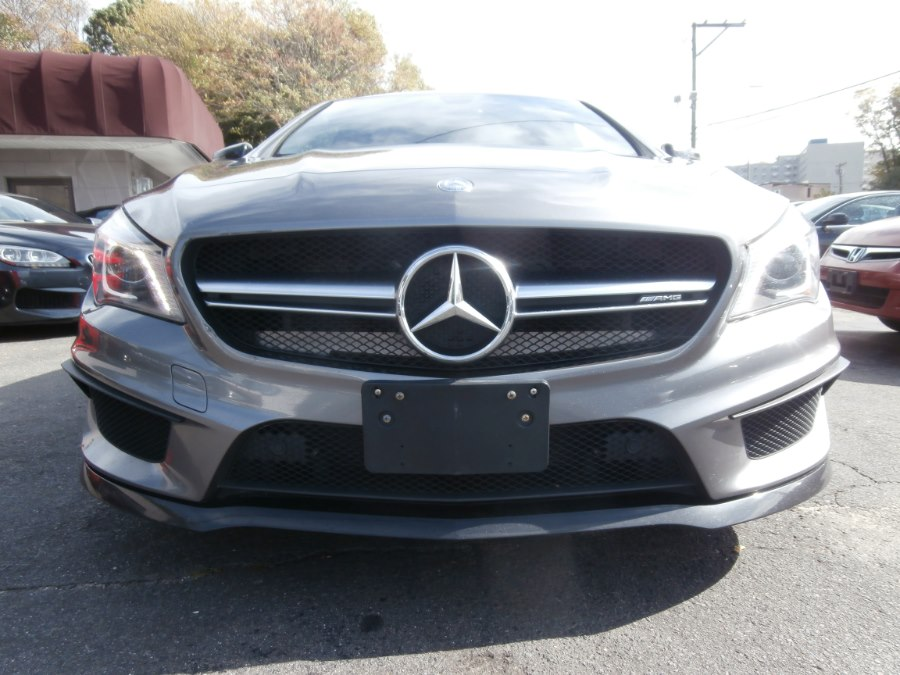2014 Mercedes-Benz CLA-Class 4dr Sdn CLA45 AMG 4MATIC, available for sale in Waterbury, Connecticut | Jim Juliani Motors. Waterbury, Connecticut
