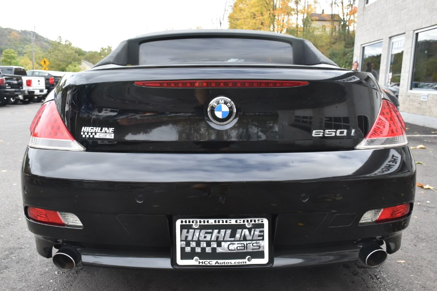 2007 BMW 6 Series 2dr Conv 650i, available for sale in Waterbury, Connecticut | Highline Car Connection. Waterbury, Connecticut