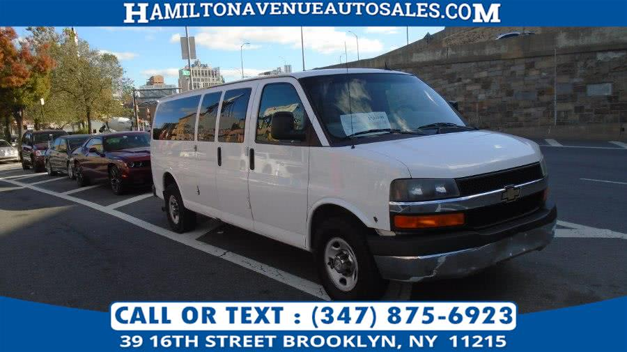 Used 2012 Chevrolet Express Passenger in Brooklyn, New York | Hamilton Avenue Auto Sales DBA Nyautoauction.com. Brooklyn, New York
