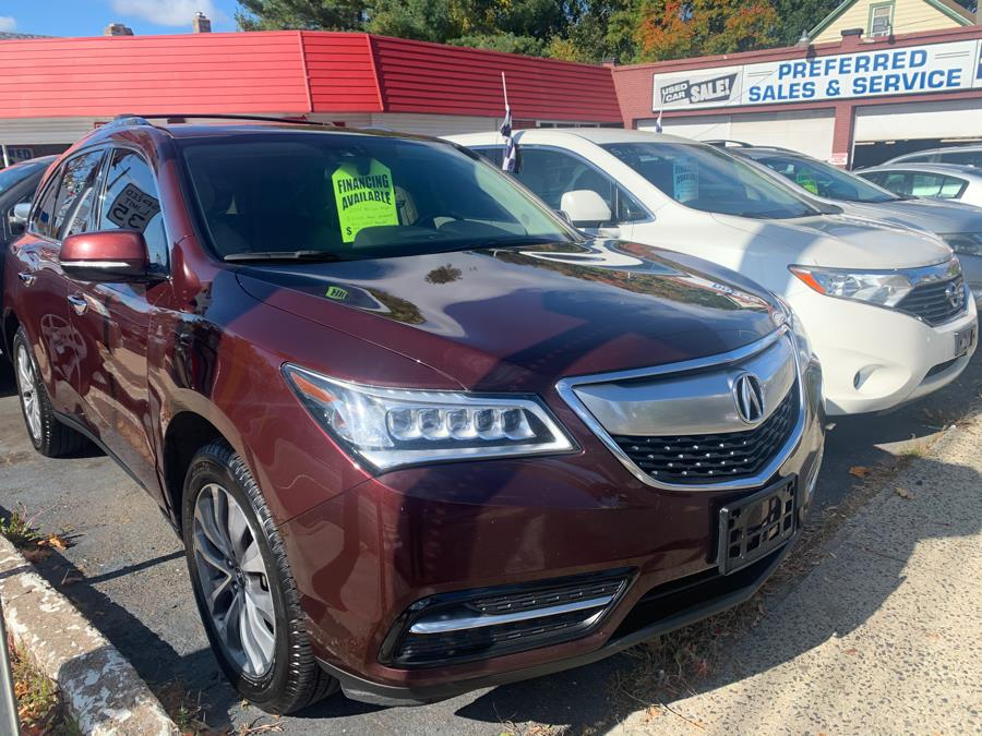 2014 Acura MDX SH-AWD 4dr Tech Pkg, available for sale in Manchester , Connecticut | Preferred Sales & Service. Manchester , Connecticut